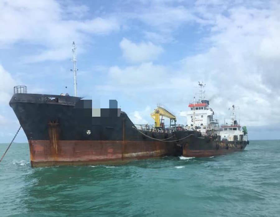Malaysia: Two Mongolian-flagged tankers detained by MMEA Johor