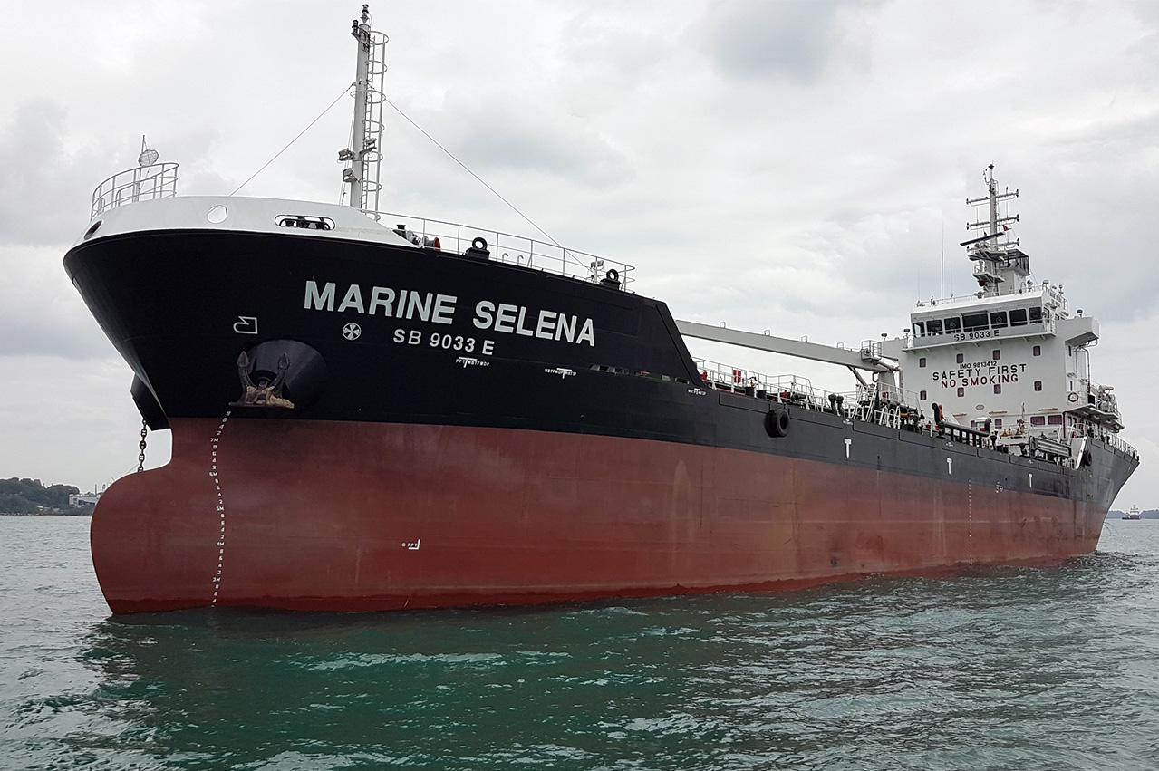 Sinanju newbuild bunker tanker arrives in Singapore