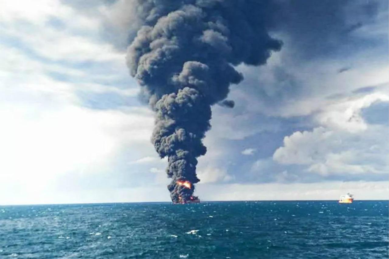 UPDATE: NITC oil tanker sinks, oil spill reported