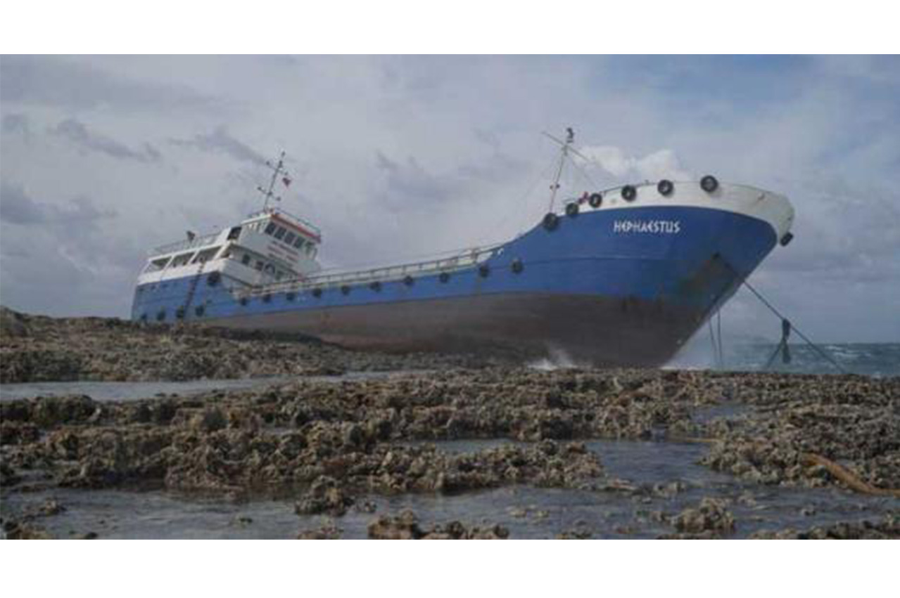 Transport Malta to remove grounded bunker tanker
