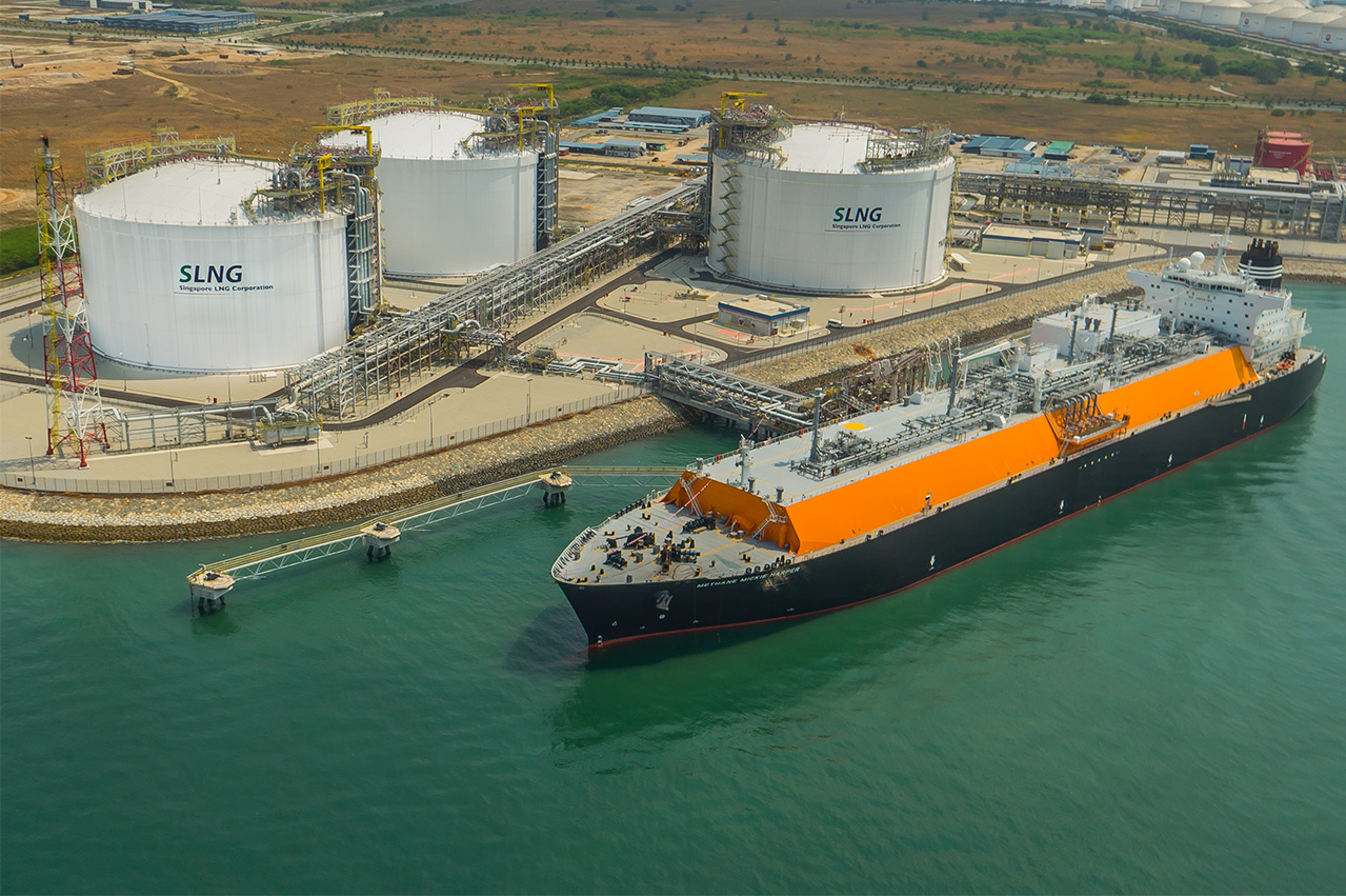 Singapore's Pavilion Energy receives inaugural LNG cargo