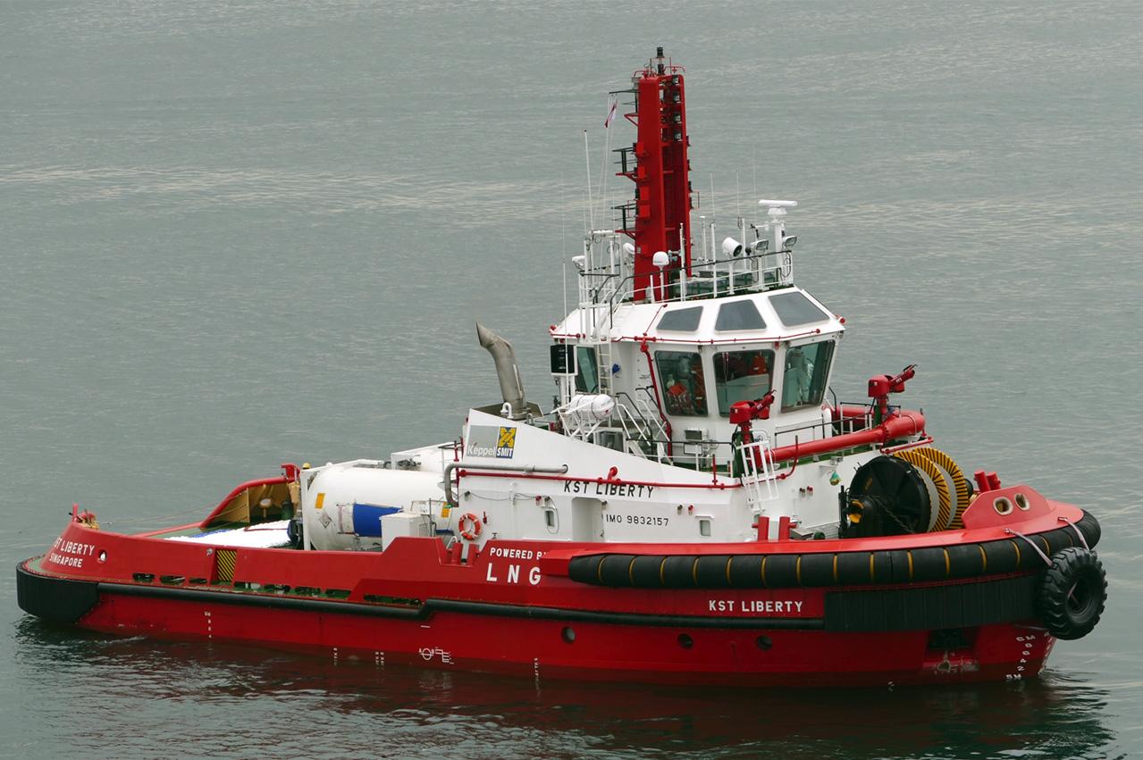 Keppel O&M christens LNG dual fuel tugboat