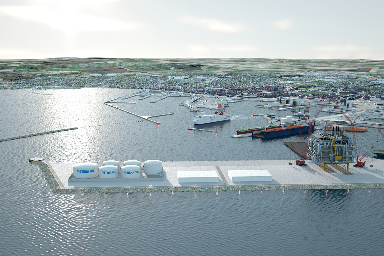 Stena Oil to build 'largest' marine fuel terminal in Denmark
