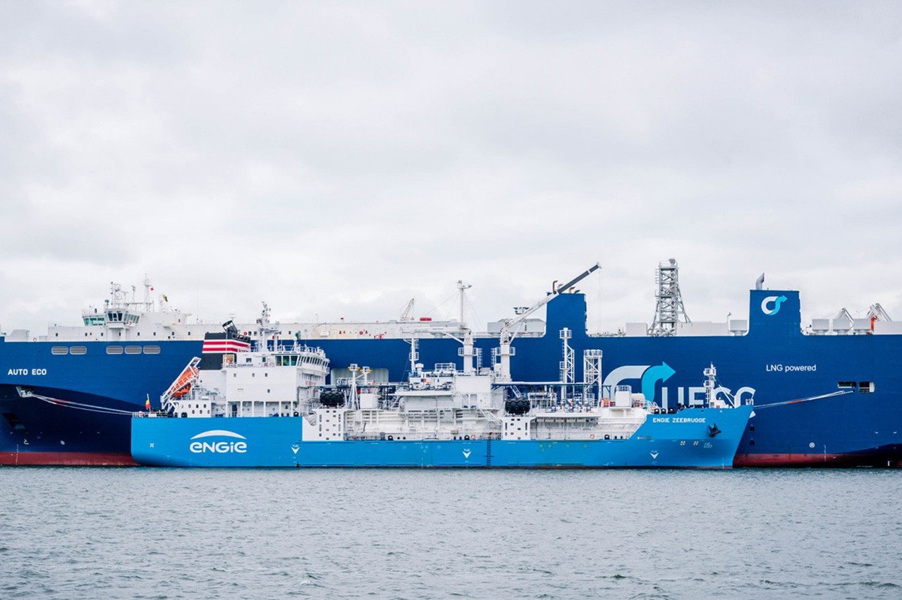 SEA\LNG publishes case study on LNG bunkering ship
