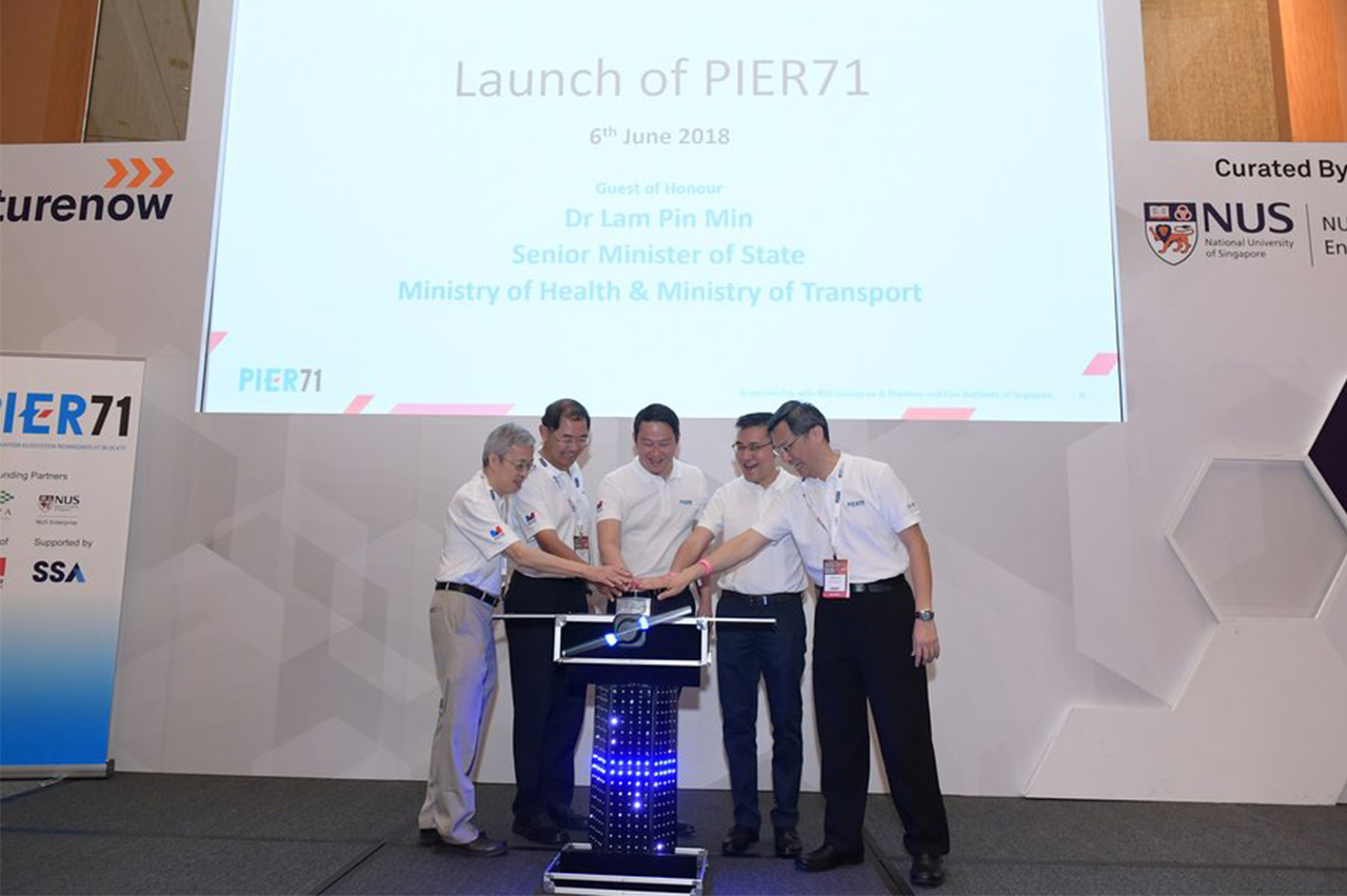 Singapore: PIER71 maritime innovation initiative launched