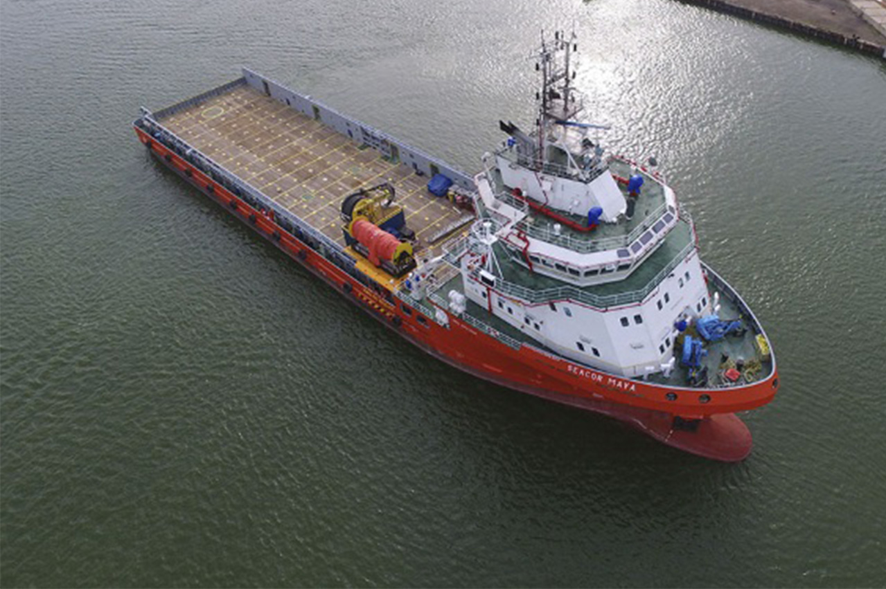 SEACOR introduces first hybrid powered OSV to market