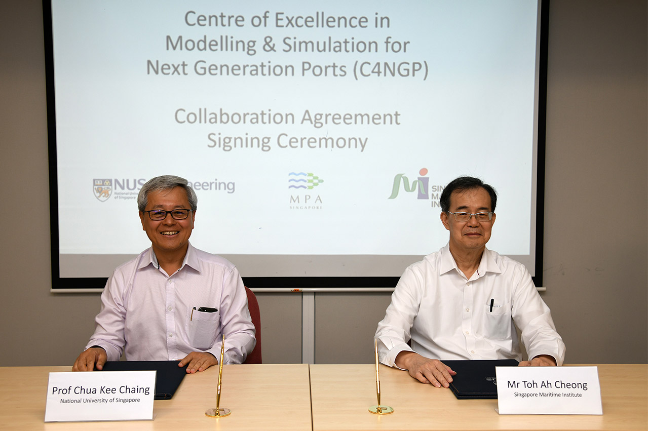 Singapore: SGD $18 million maritime research centre unveiled