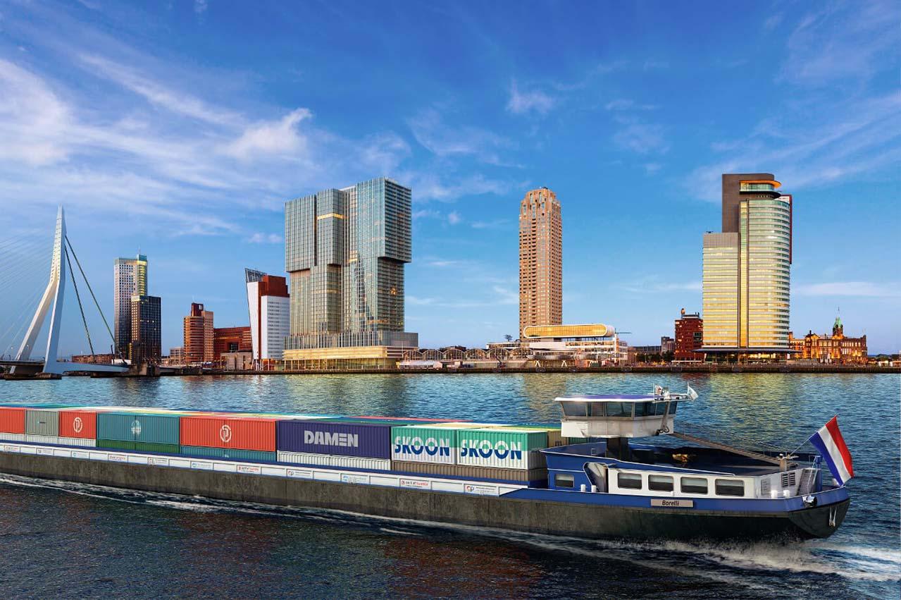 Damen Shipyards explores 'large scale' electrification of vessels
