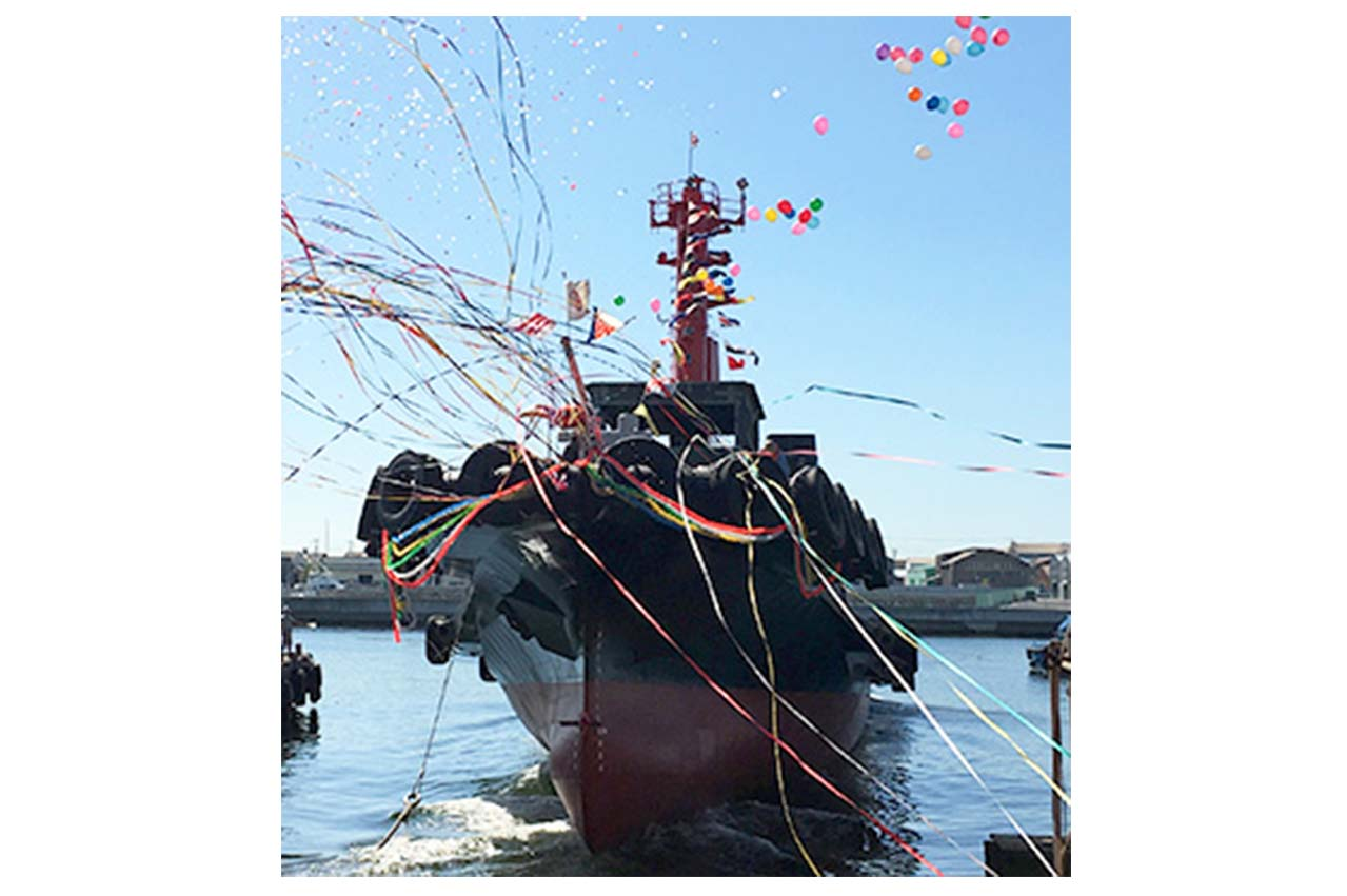 Mitsui O.S.K. Lines names its first LNG-fuelled tugboat