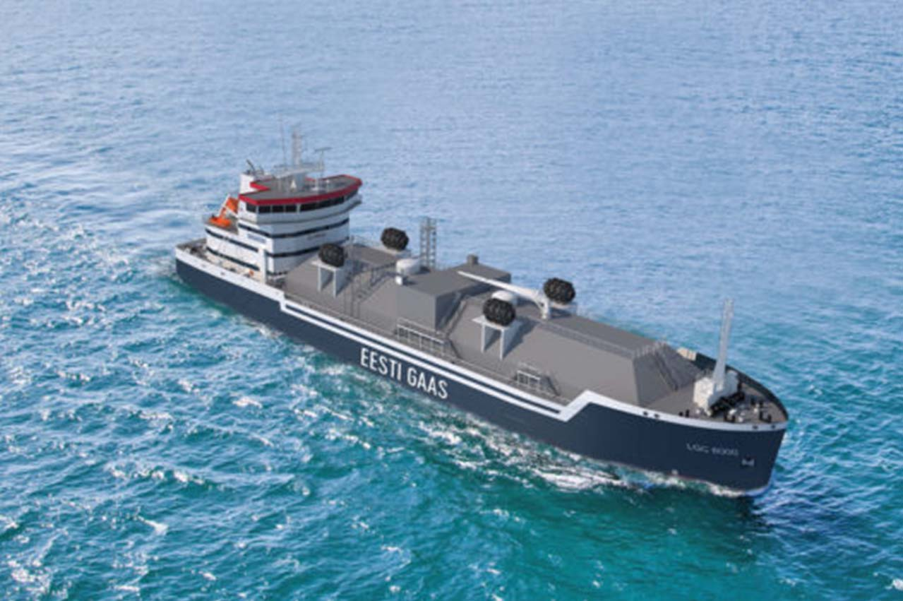 Eesti Gaas orders LNG bunkering vessel for Baltic ops