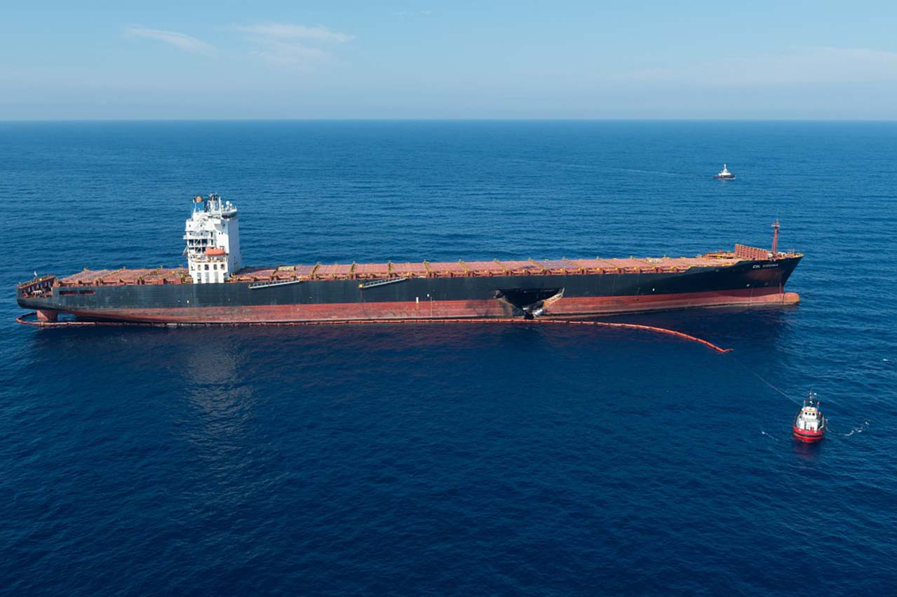 CSL Virginia/Ulysses collision: Majority of bunker spill cleaned up