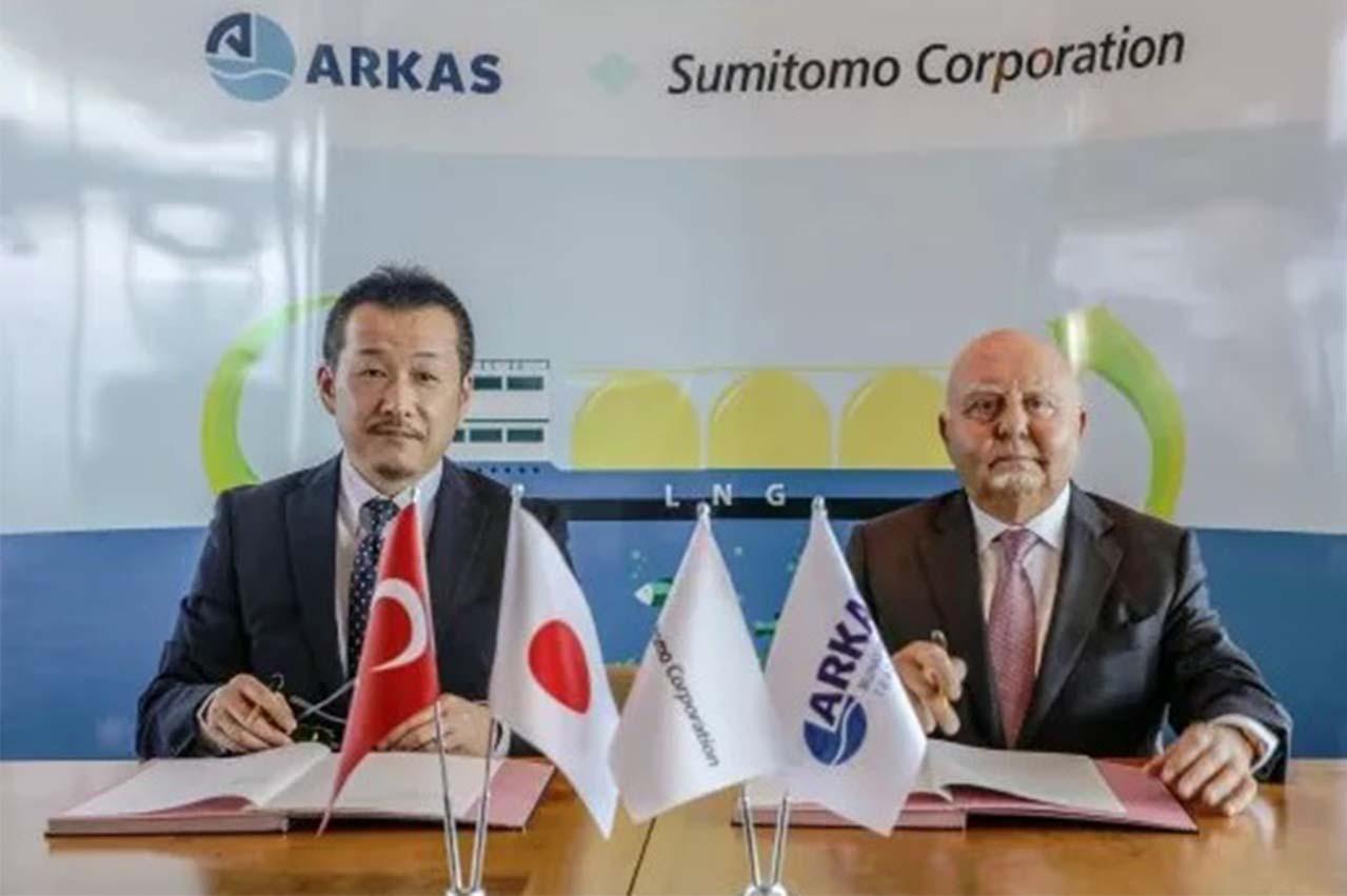 Sumitomo, Arkas Bunkering in LNG bunkering venture