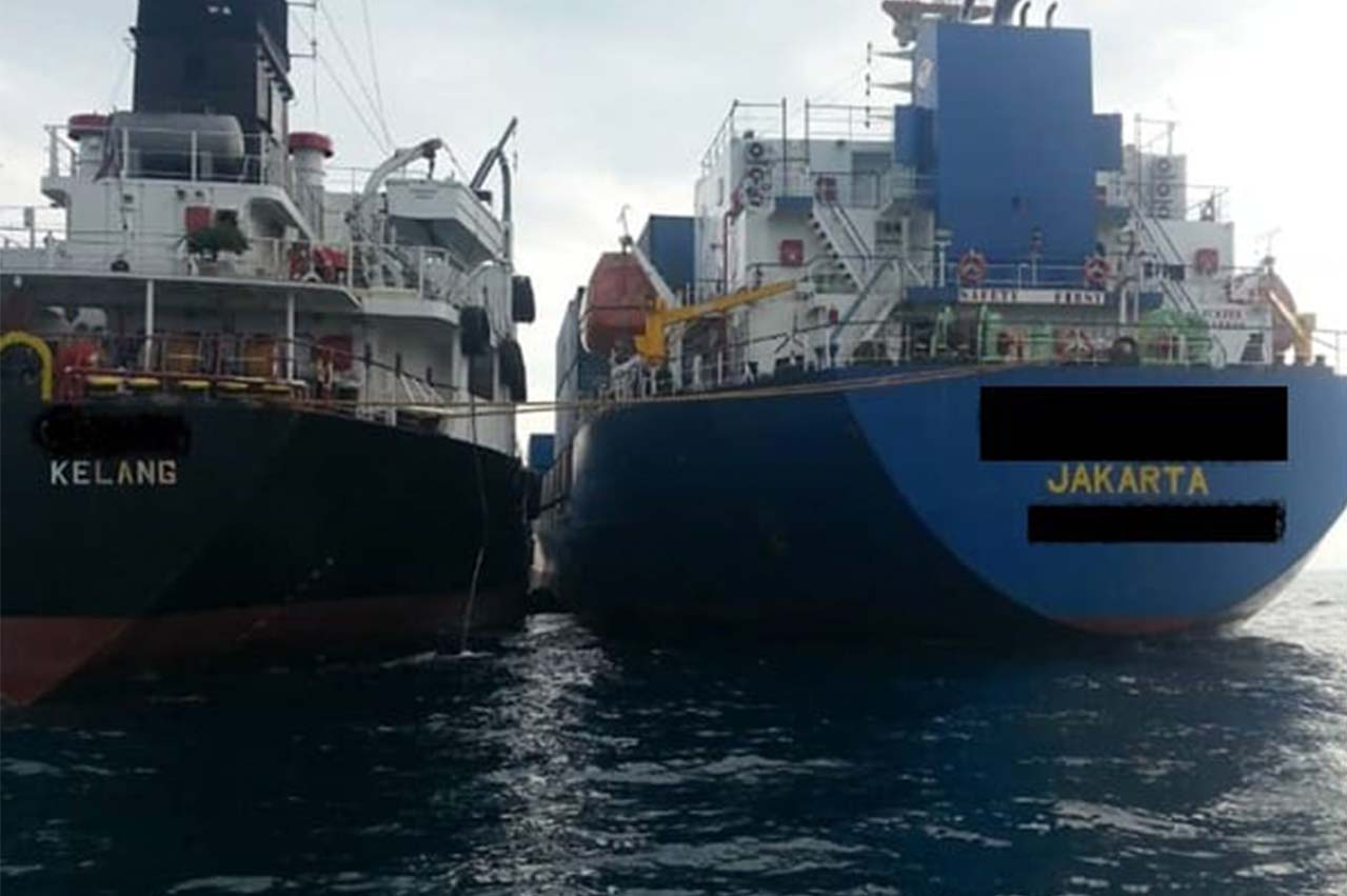Malaysia: Bunker tanker detained over invalid 'permission to anchor' document