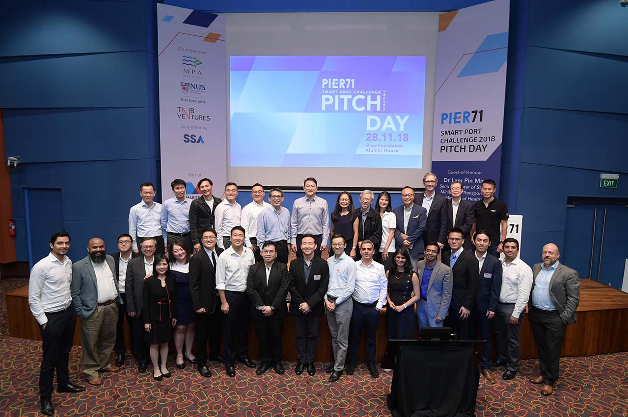 Singapore: PIER71 Smart Port Challenge concludes with three winners