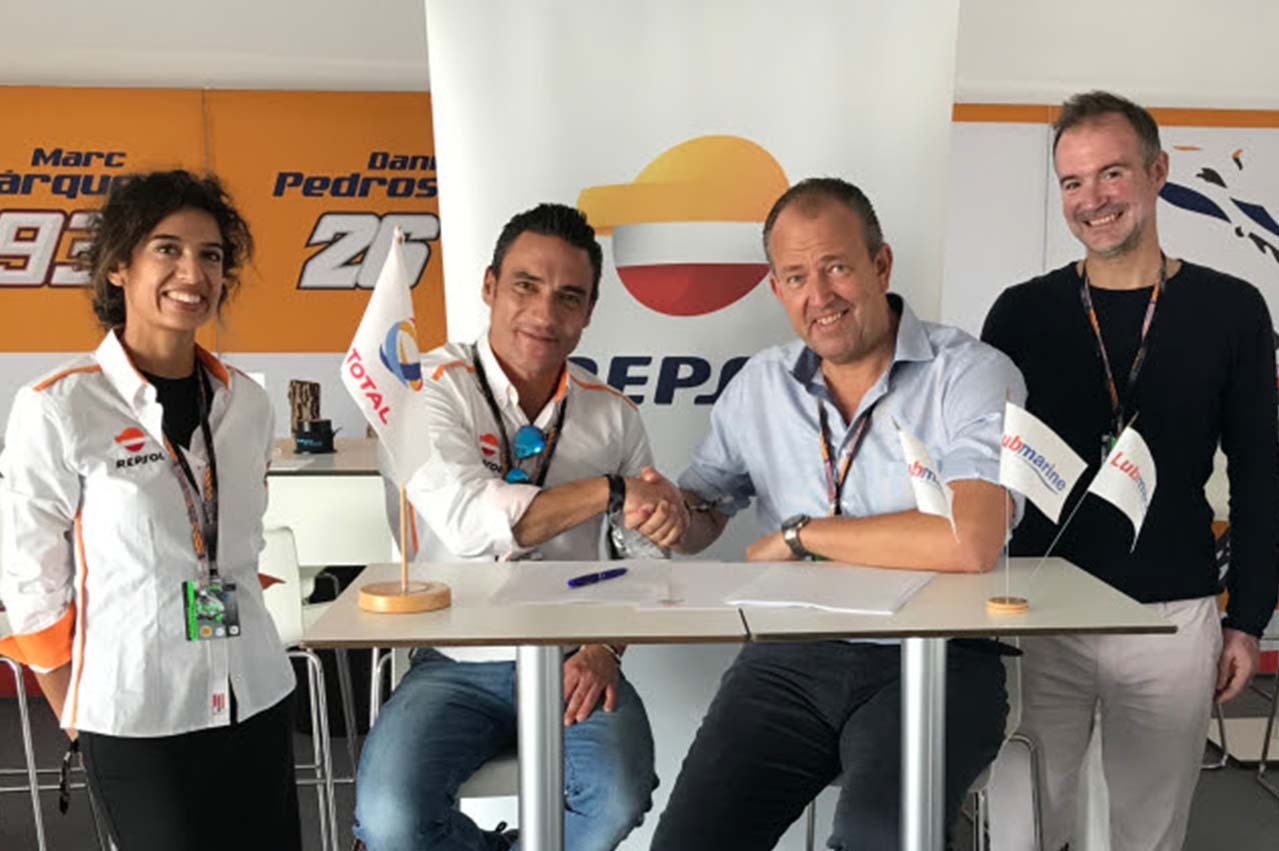 Repsol Lubricants extends partnership with Total Lubmarine