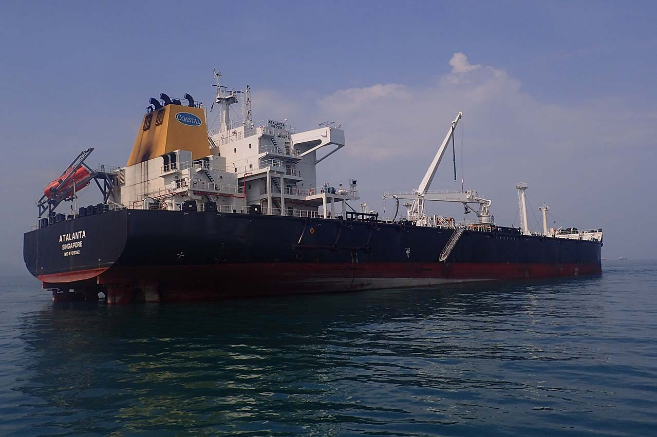 "Singapore: Coastal Logistics owned MR tanker ""Atalanta"" arrested"