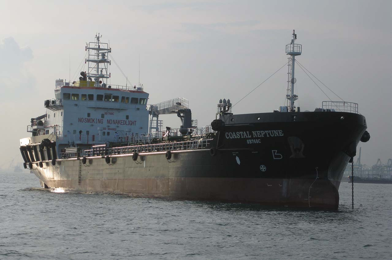 "Singapore: Bunker tanker ""Coastal Neptune"" arrested"