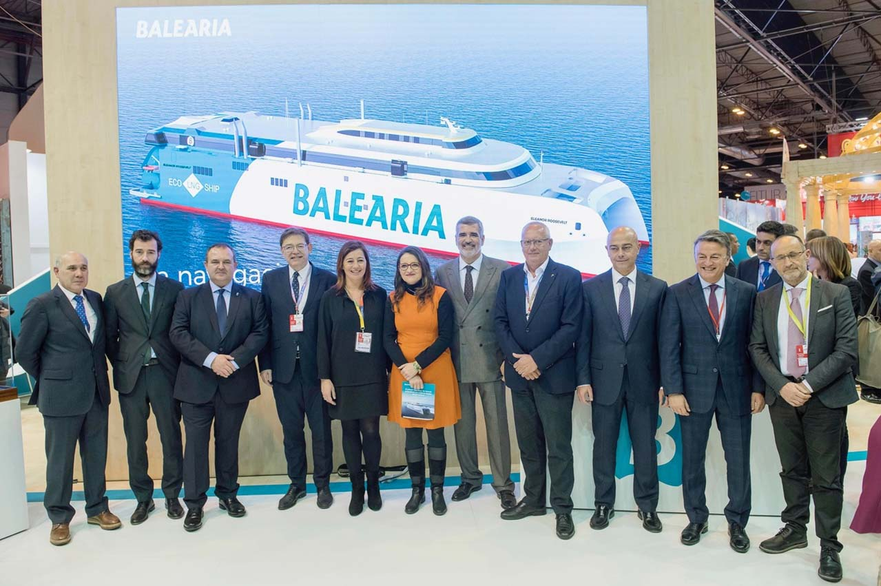 Baleària receives first of two LNG-fuelled fast ferries