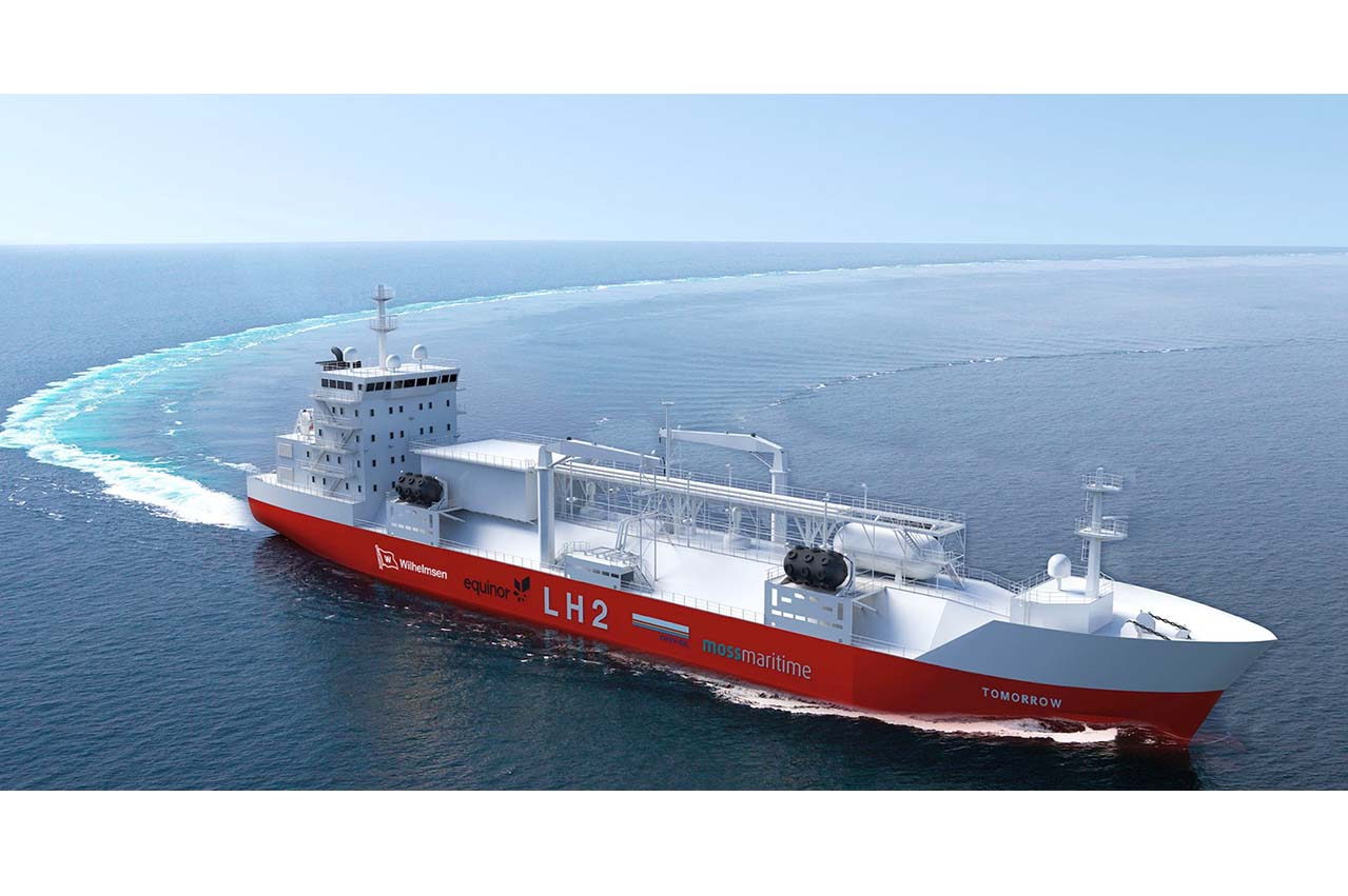 Innovation Norway sponsored project introduces LH2 bunker tanker