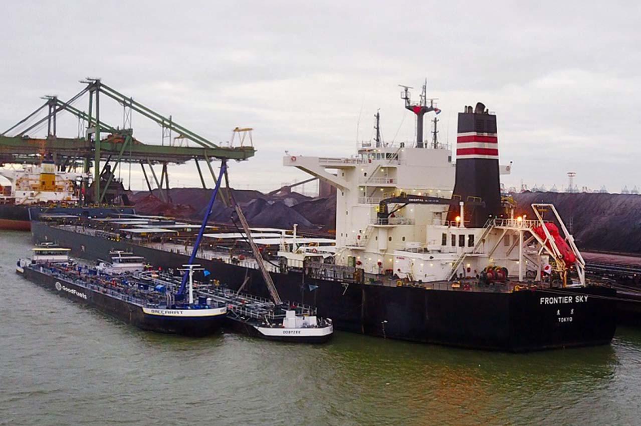 BHP, NYK, GoodFuels, BLOC in Rotterdam biofuel bunkering trial