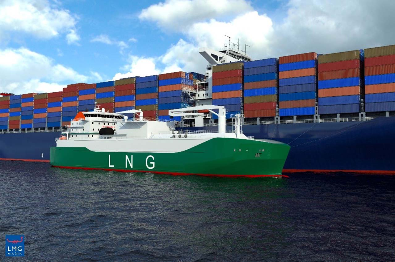 MOL charters out Singapore LNG bunkering tanker to Pavilion Gas
