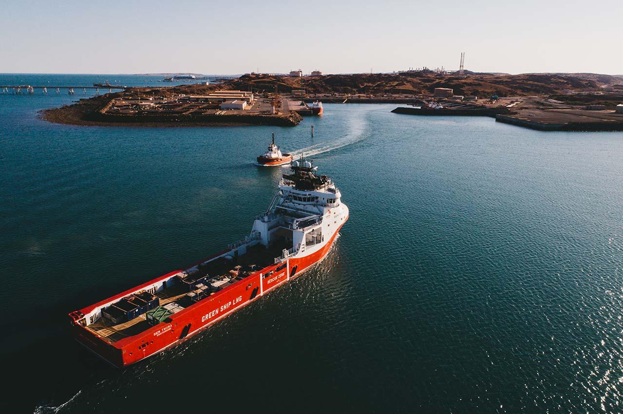 Woodside tendering for LNG bunkering vessel for West Australia ops