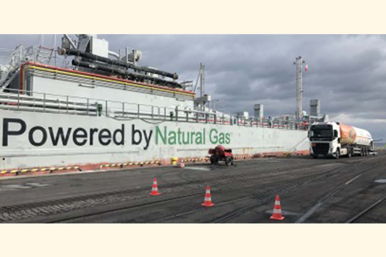 Grupa LOTOS and PGNiG completes LNG commercial bunkering ops