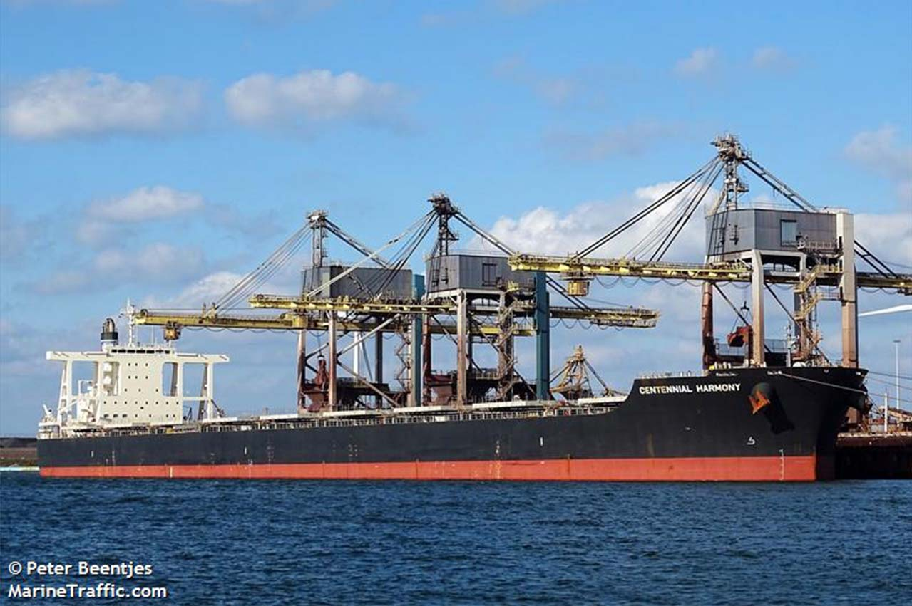 "Paris MOU: ""Centennial Harmony"" detained over incompliant fuel"