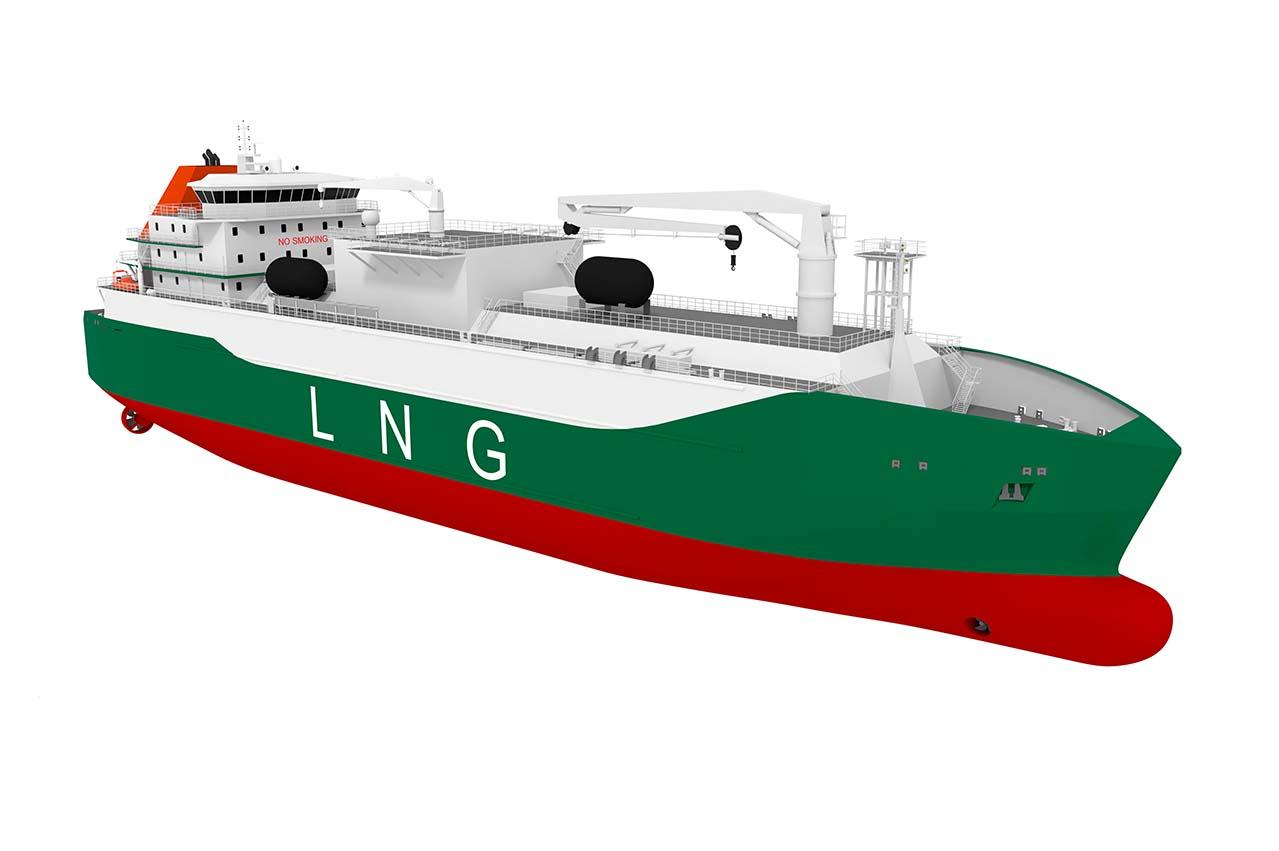 Sembcorp Marine orders GTT designed LNG tank for bunker tanker