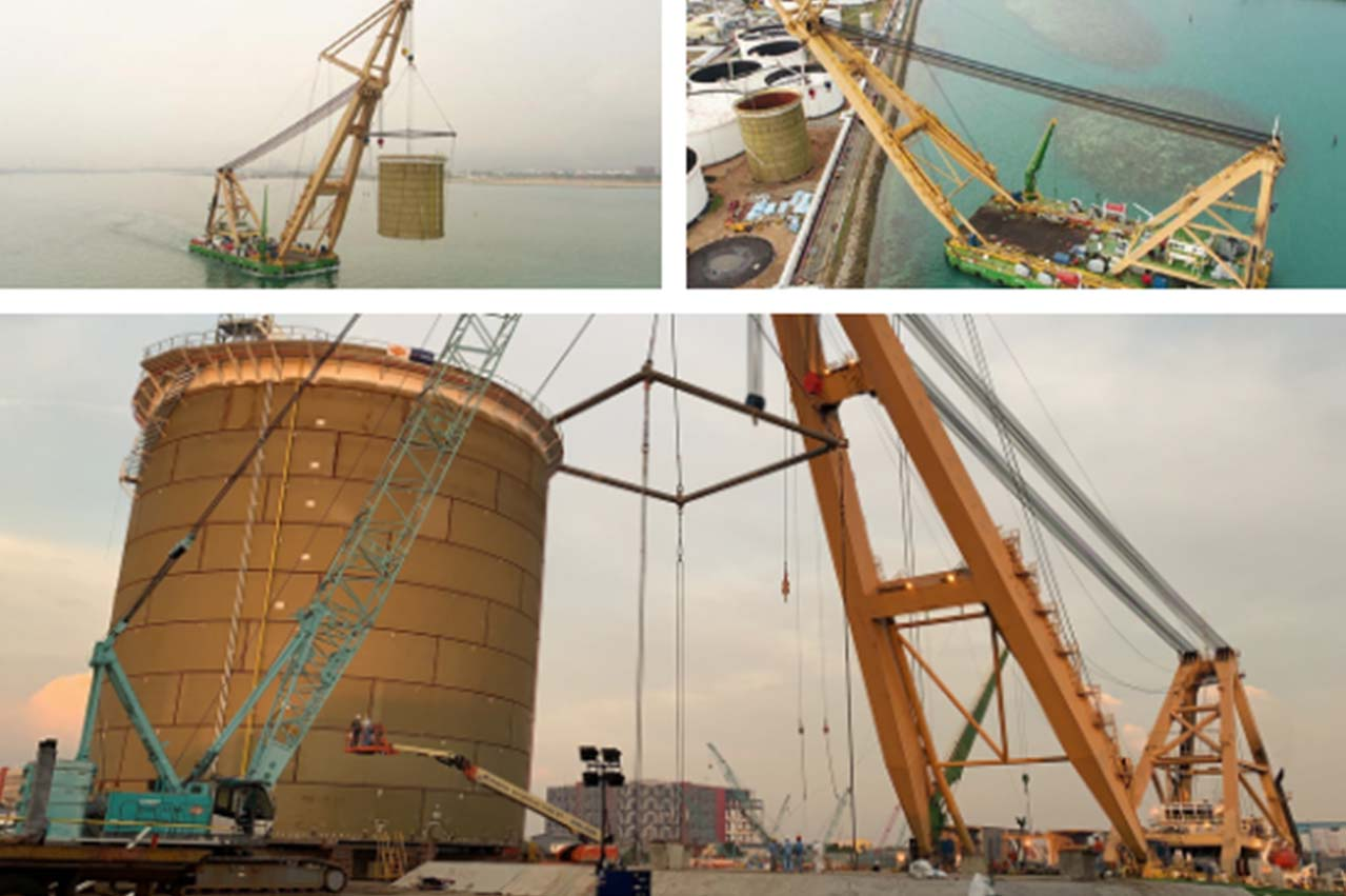 Singapore: Vopak Terminals Sebarok tank expansion enters milestone