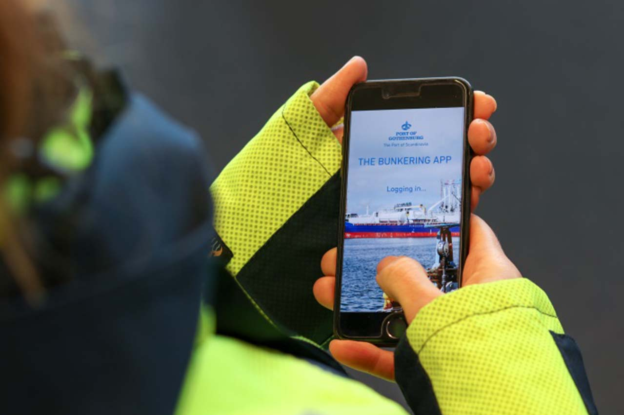 Gothenburg Port Authority enhances ops with bunkering app