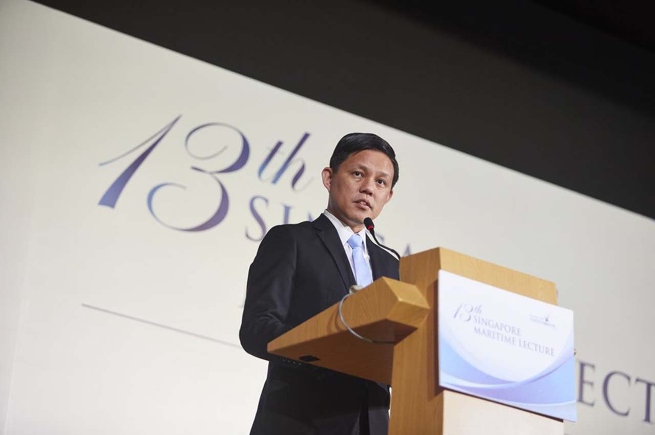 SMW 2019: Minister delivers 'Whither Singapore as a Maritime Hub?' lecture