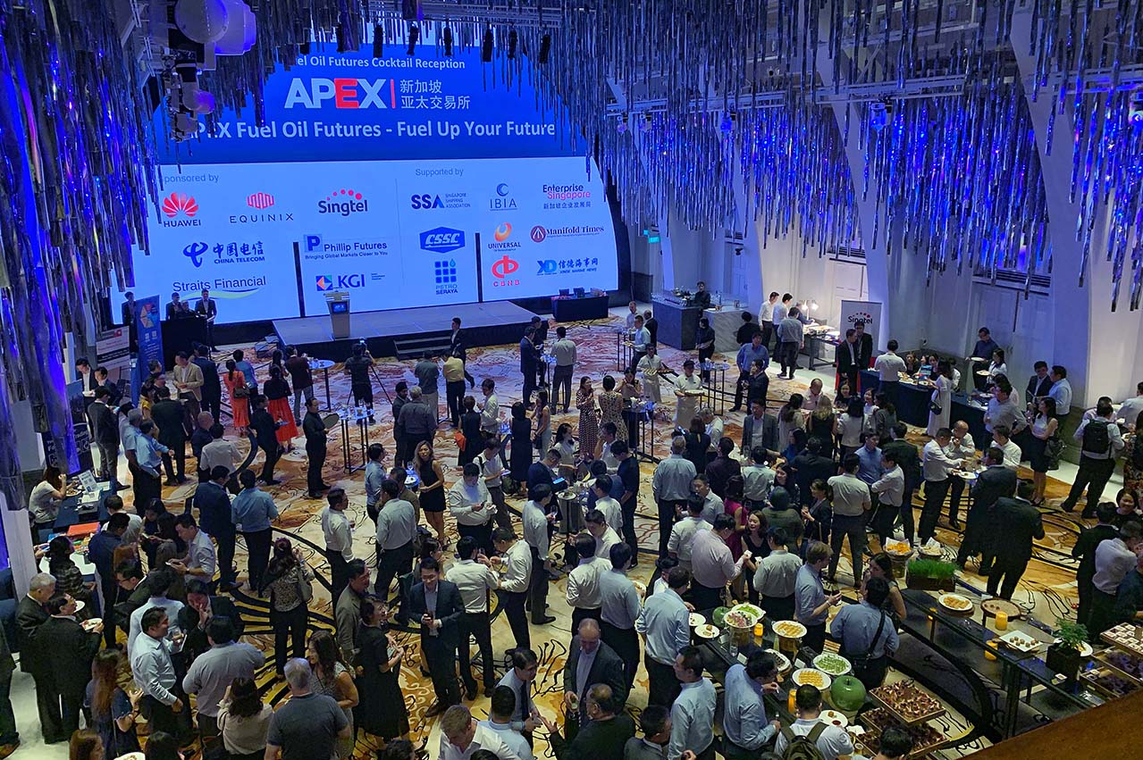 Singapore: APEX holds Fuel Oil Futures Cocktail Reception