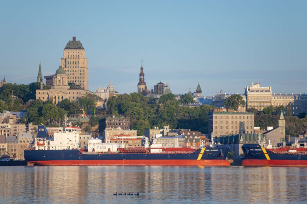 Canada: Desgagnés in double christening of LNG DF fuel tankers