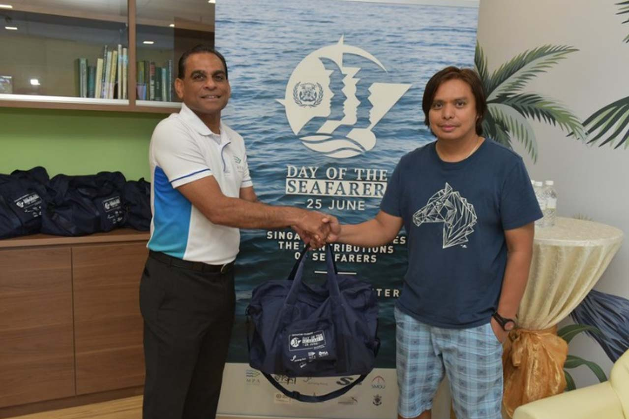 Singapore celebrates 'Day of the Seafarer 2019' to thank seafarers