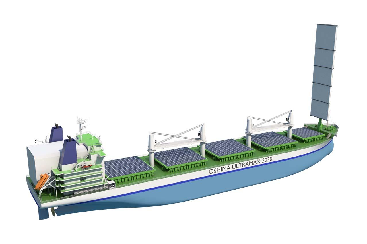 Wärtsilä, Oshima Shipbuilding, DNV GL introduce IMO 2030 bulker