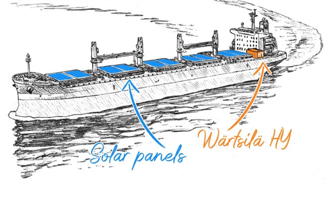 Wartsila to implement hybrid solution for bulk carrier newbuilding