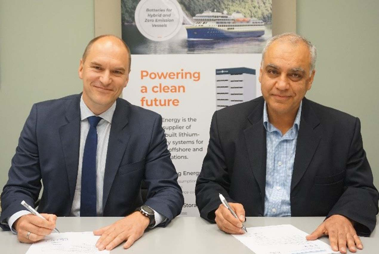 Corvus Energy signs DNV GL Manufacturing Survey Arrangement