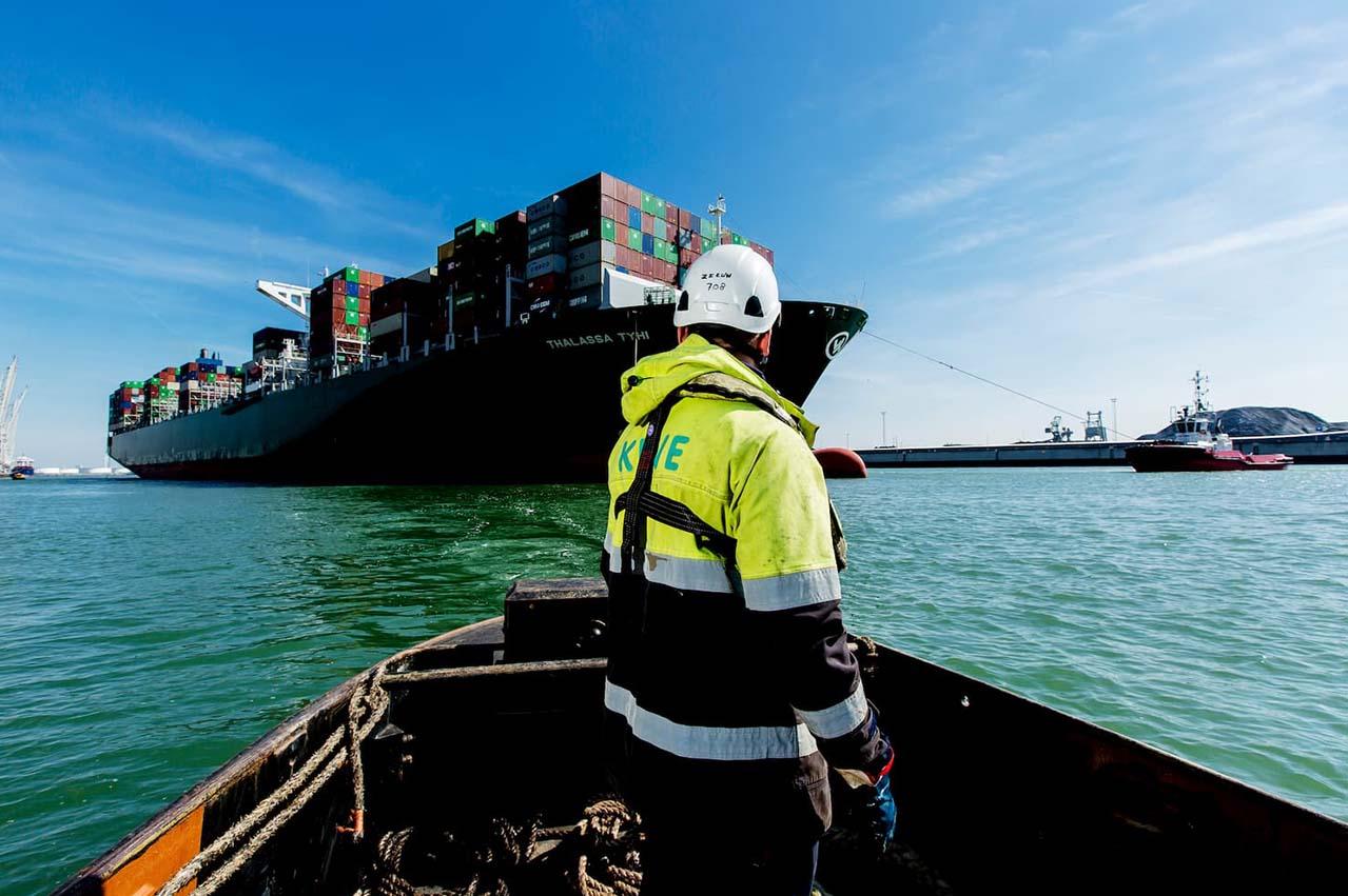 Port of Rotterdam showcases TimeToBunker notification app