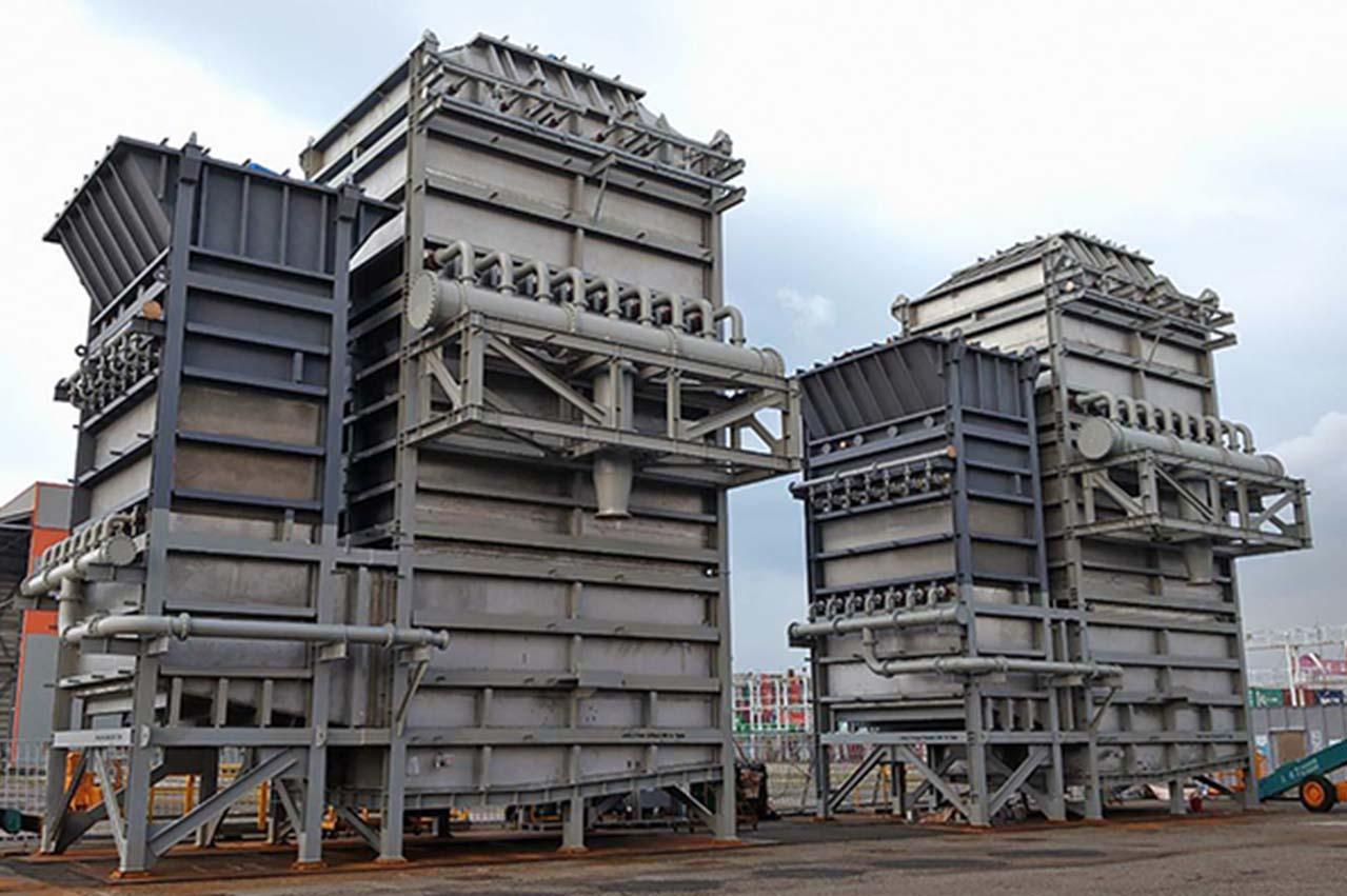 Mitsubishi Shipbuilding starts shipment of DIA-SOx scrubbers