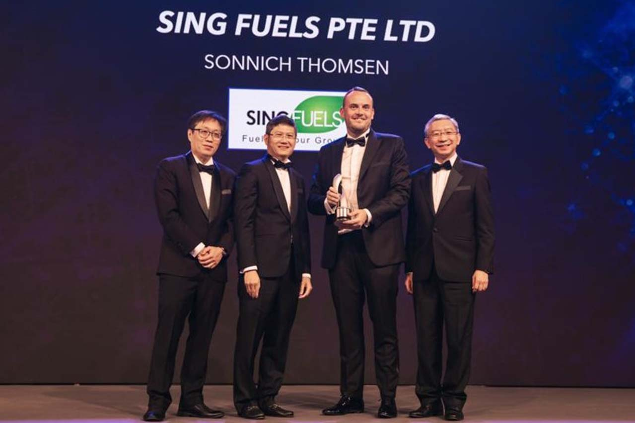 Sing Fuels wins Enterprise 50 Awards for second consecutive year
