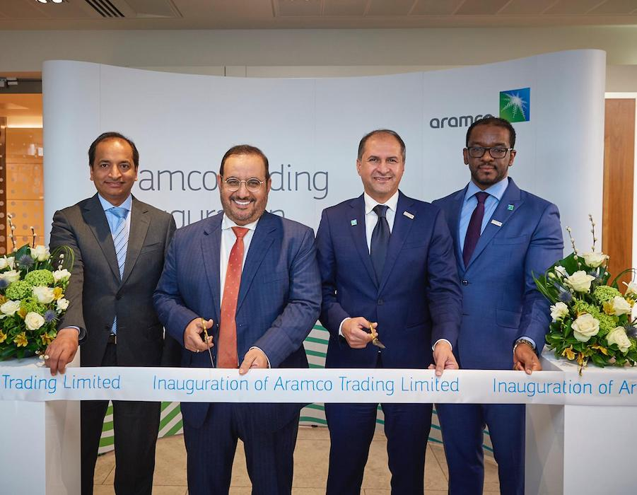 Aramco Trading inaugurates third international office in London