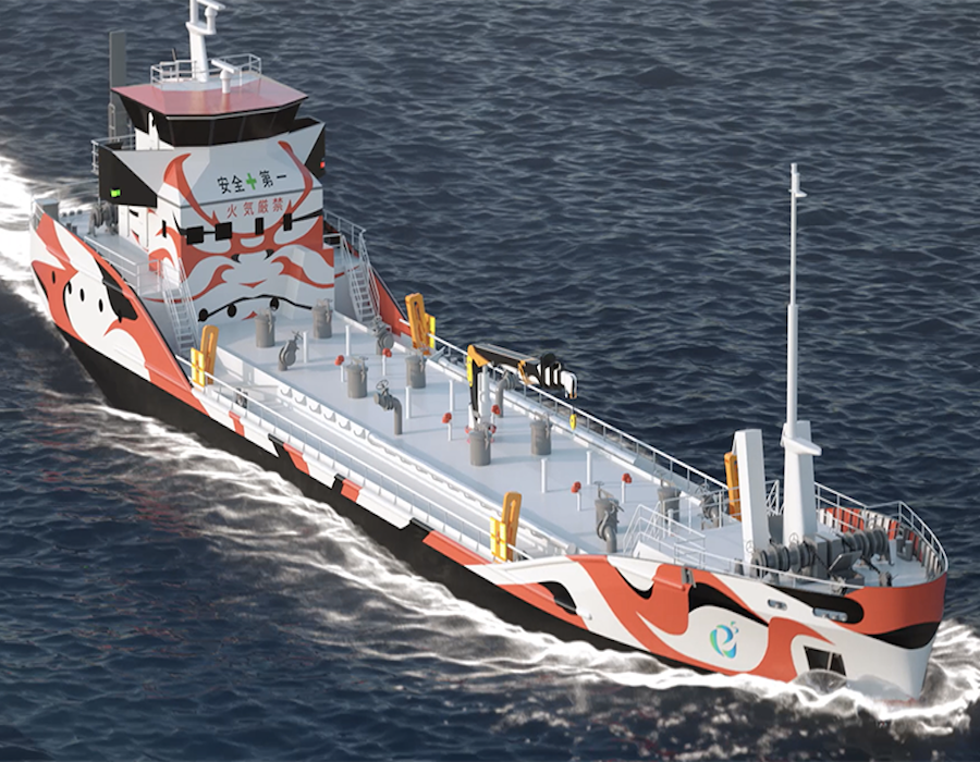 Asahi Tanker orders world's first zero-emission electric propulsion bunker tankers
