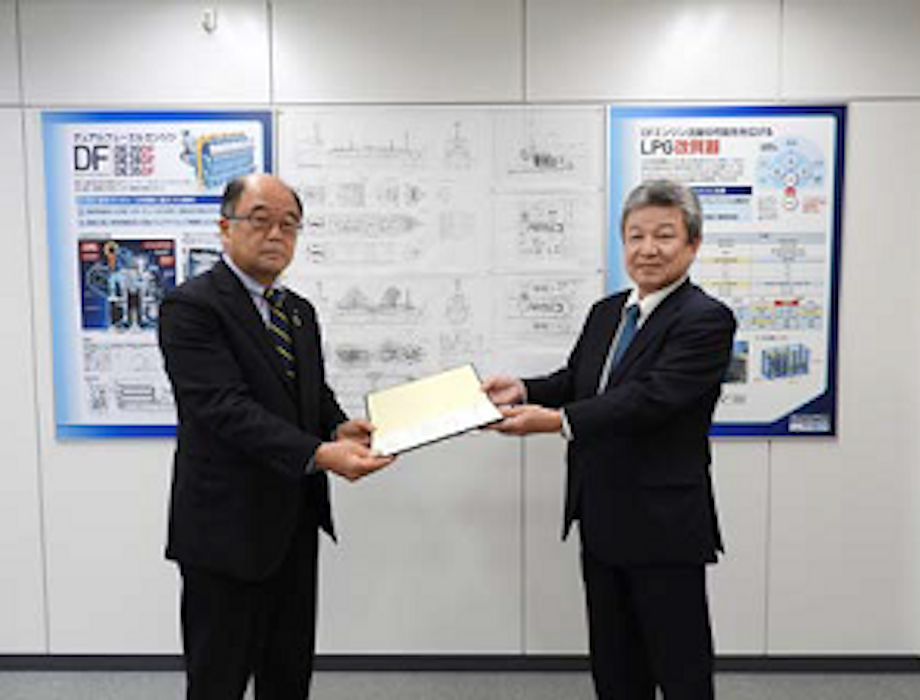 Daihatsu Diesel receives ClassNK AiP for LPG reformed gas fueled vessel