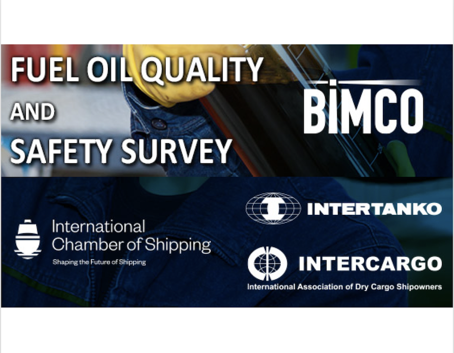 BIMCO: Reminder to complete bunker fuel quality and safety survey before 6 May