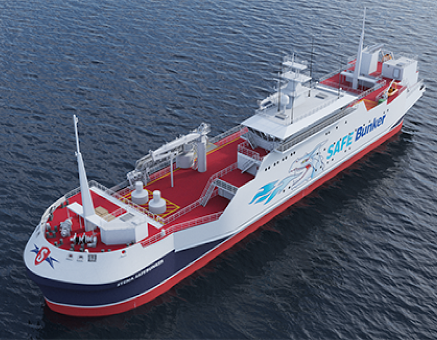 Stena Bulk introduces SAFE Bunker 'contactless' LNG bunker/feeder concept vessel