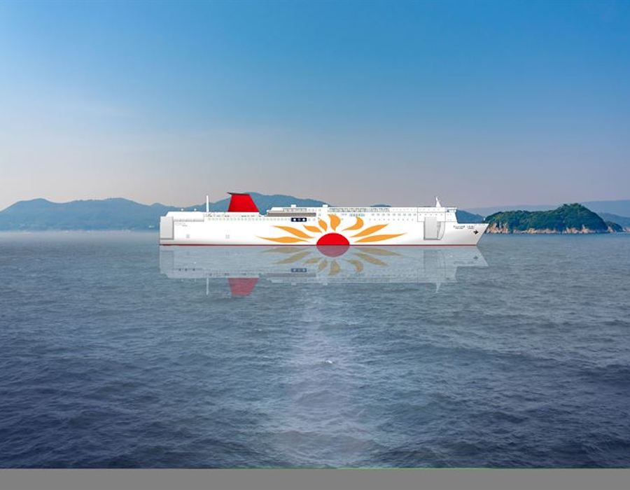 Wärtsilä technology solutions conscripted for Japan's first LNG powered ferries