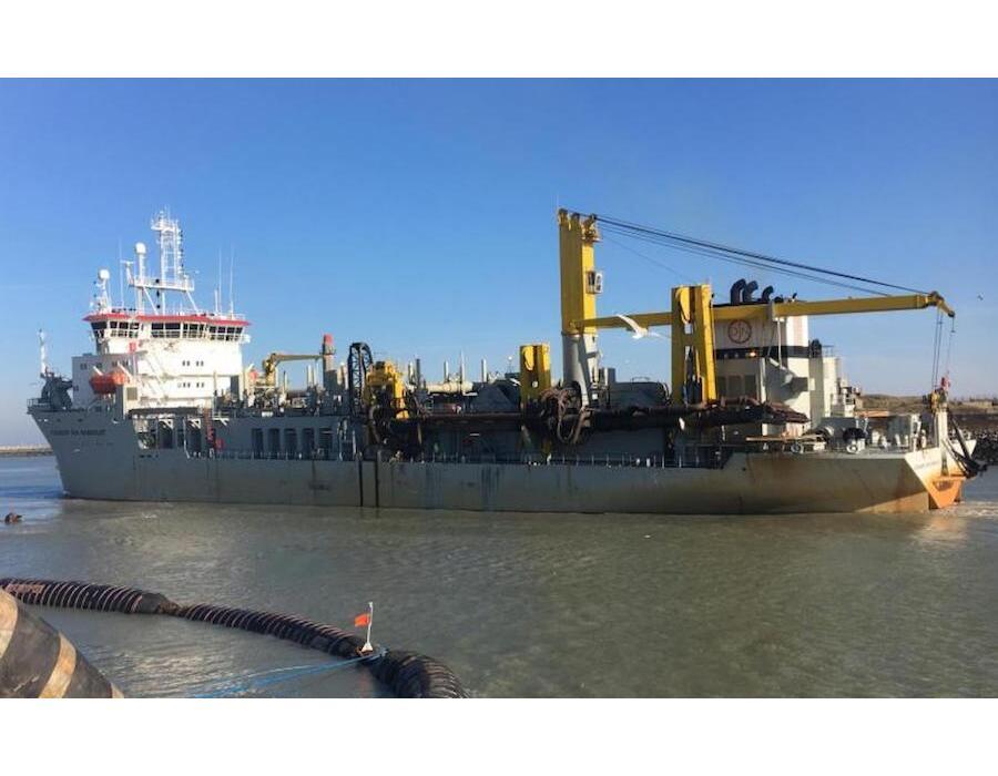 Jan De Nul dredger hopper sails 2,000 hours on sustainable Biofuel Oil as bunker fuel