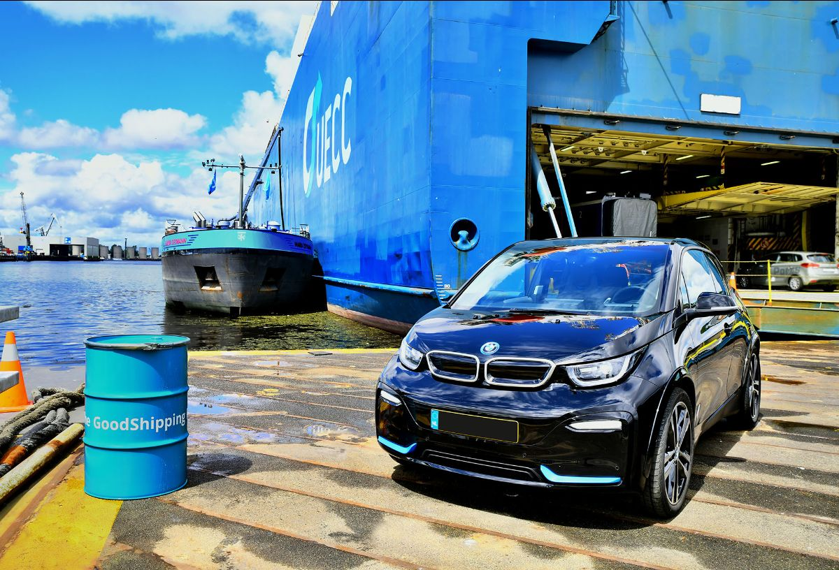 BMW Group continues bio fuel oil bunker tests with UECC to transport its cars