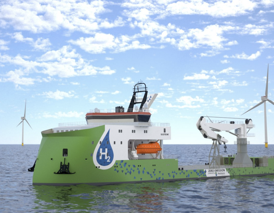 Ulstein unveils roadmap to scale adoption and use of hydrogen as bunker fuel